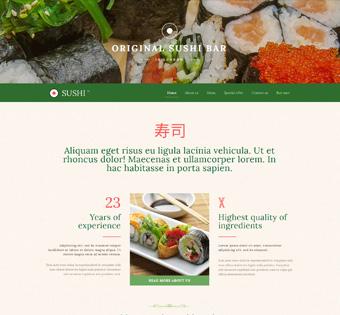 طراحی سایت حرفه ای رستوران