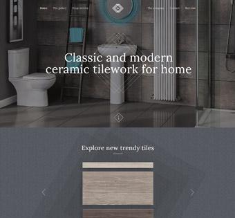 طراحی سایت حرفه ای کاشی و سرامیک