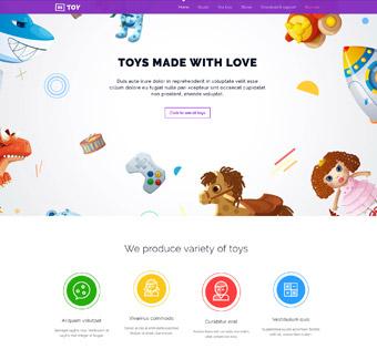 طراحی سایت حرفه ای اسباب بازی