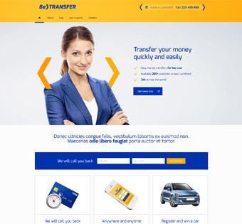 طراحی سایت حرفه ای آزانس مسافرتی