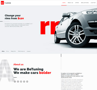 طراحی سایت حرفه ای مکانیک ماشین