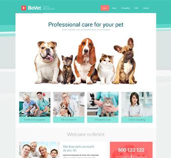 طراحی سایت حرفه ای حیوانات