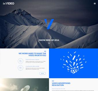 طراحی سایت حرفه ای ویدئو