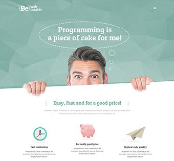طراحی سایت حرفه ای وب مستر